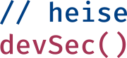 heise devSec conference logo